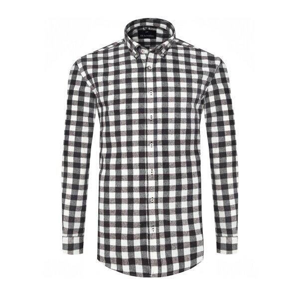 06c7434708b5 Flanelová košeľa v klasickom strihu Di Selentino - GlasgowCLASSIC