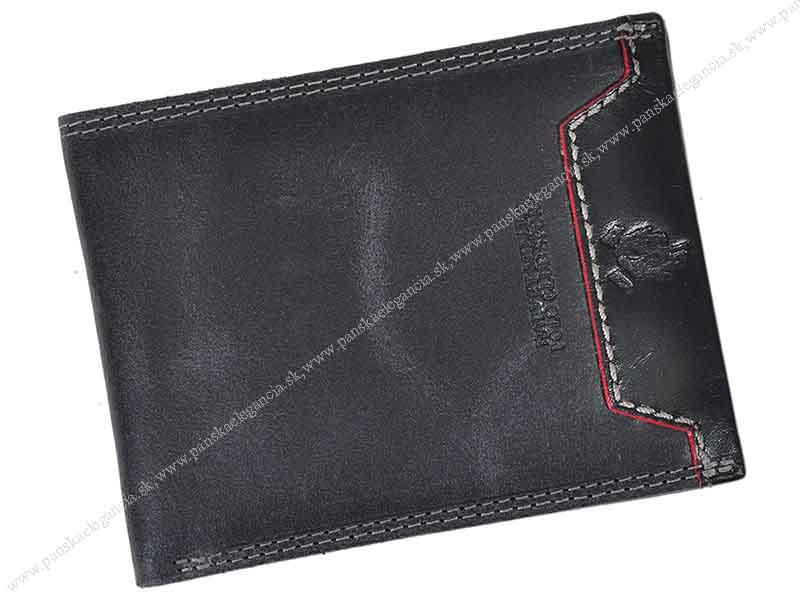 10380-1 Pánska kožená peňaženka Harvey Miller 5028 872, skl.