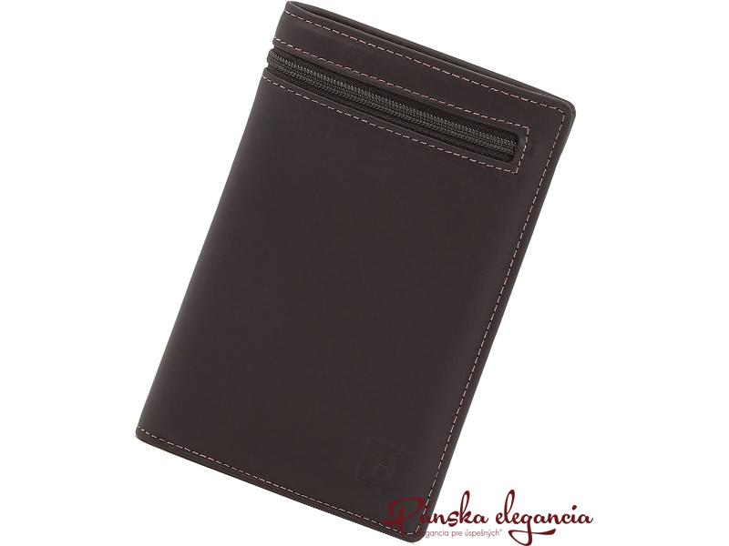 11471-2 Luxusná pánska peňaženka HEXAGONA PARIS 157046 marron,skl.