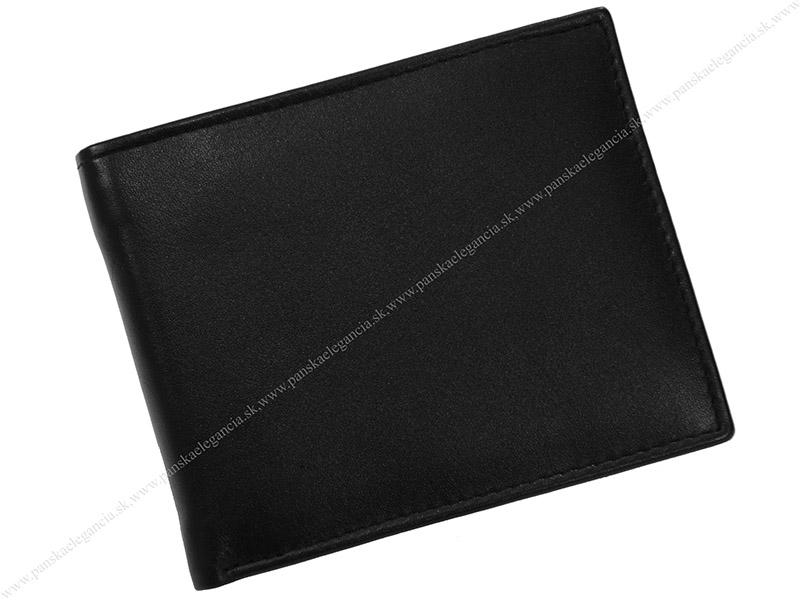 10343 Pánska kožená peňaženka 513-4397-NAP-60 čierna.