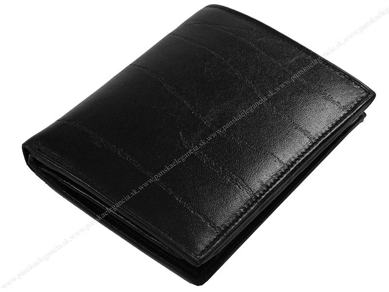 10347 Pánska kožená peňaženka 514-1610-SHO-60 čierna.