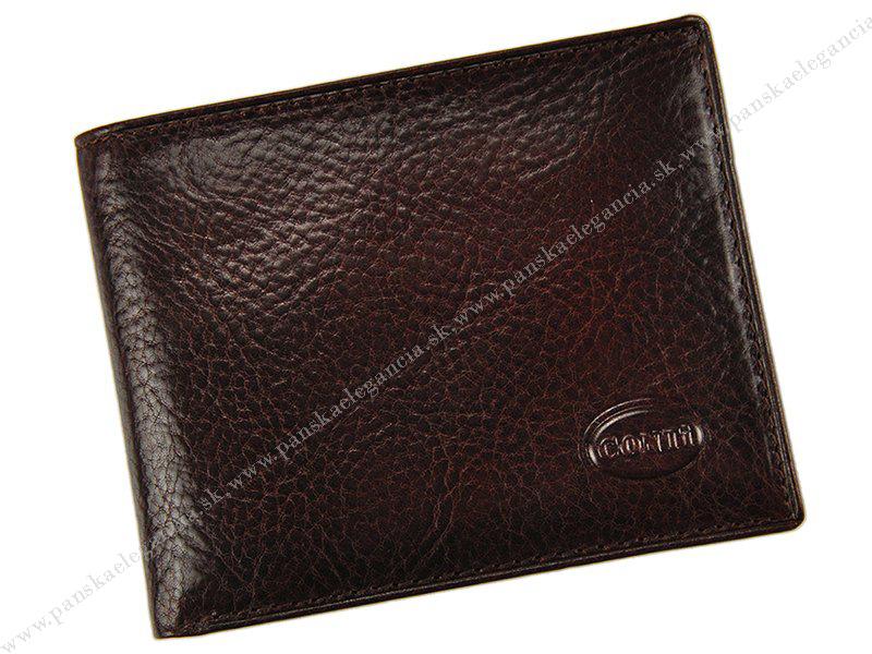 10410-2 Pánska kožená peňaženka CONTI TAN-H04,skl.