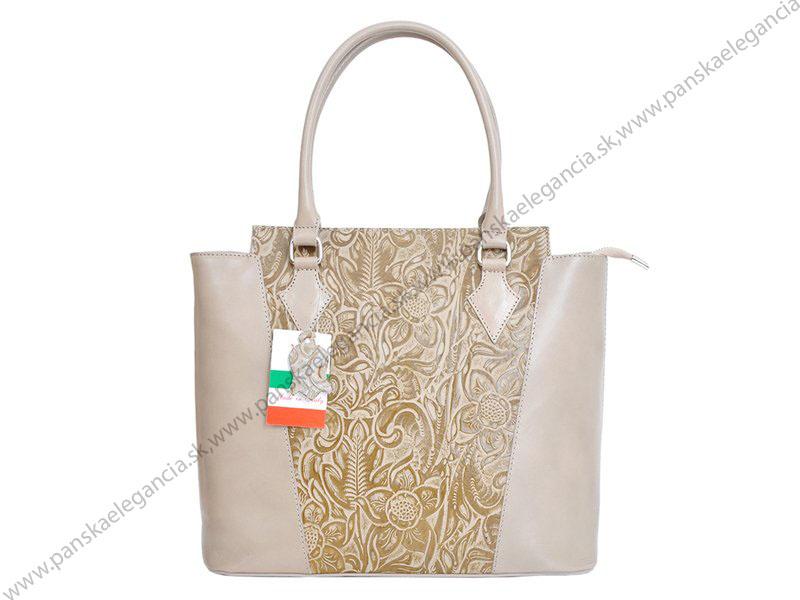 70177-2 Kvalitná kožená kabelka značky Florence.skl