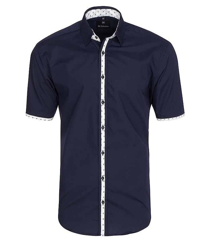 Pánska košeľa s krátkym rukávom v KLASICKOM STRIHU - BahamasCLASSIC