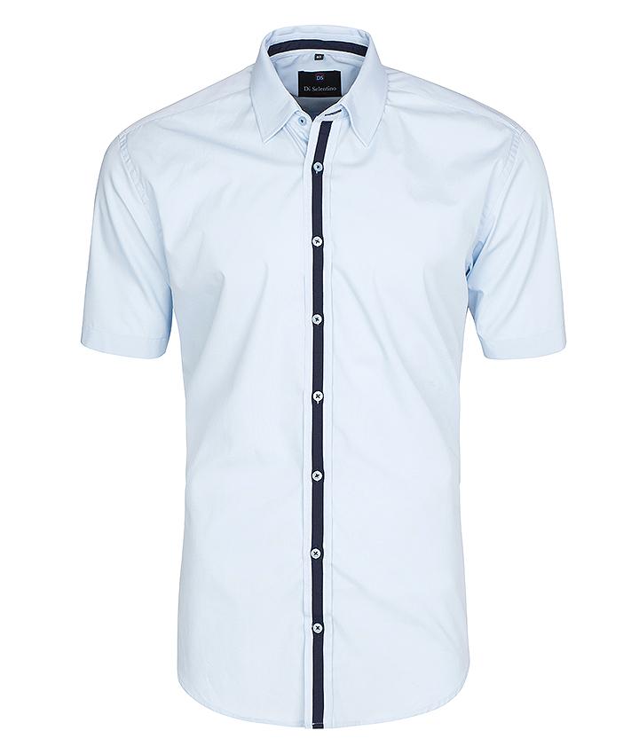 Pánska košeľa s krátkym rukávom v KLASICKOM STRIHU - MaldivesCLASSIC