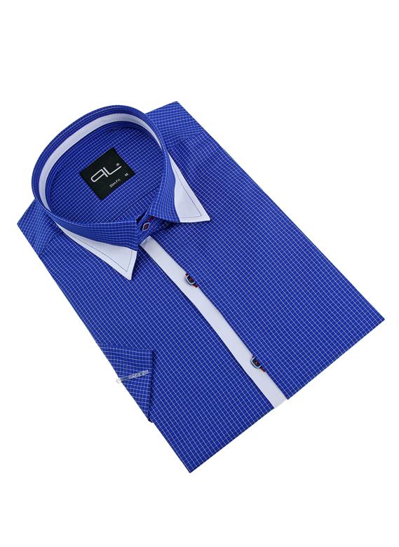 11073-PL-K-4 Pánska košeľa PAKO LORENTE - krátky rukáv