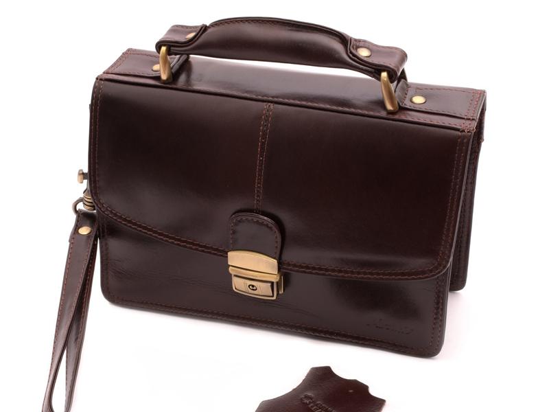 Kožená príručná taška 3711572