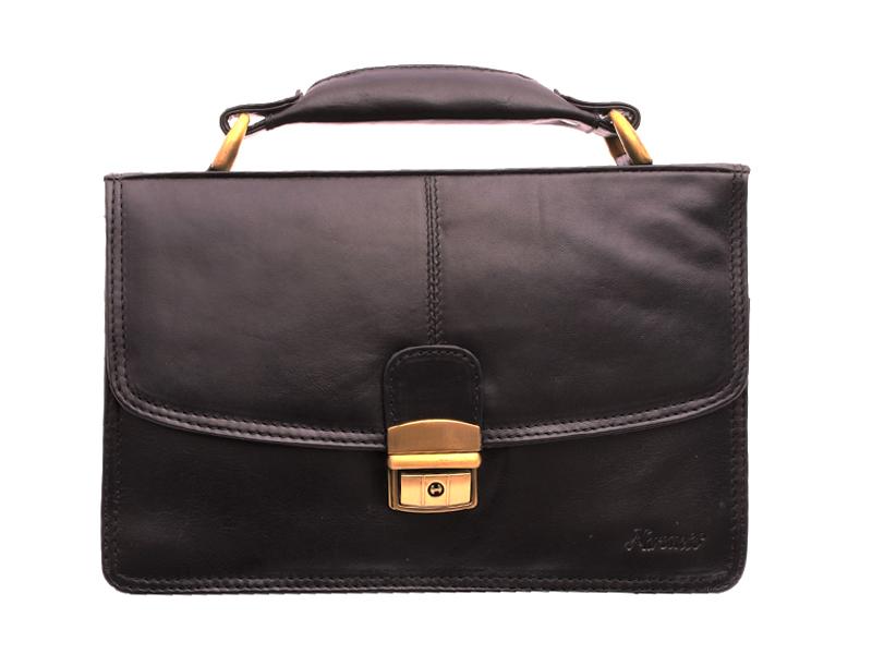 Kožená príručná taška