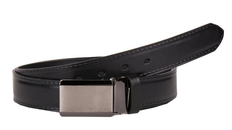 Oblekový opasok v čiernom prevedení do dĺžky 140 cm.