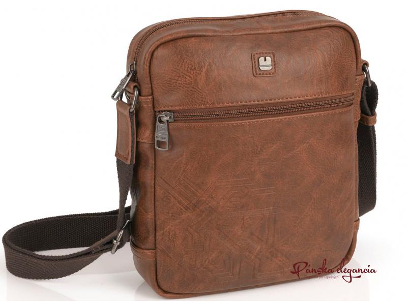 Praktická hnedá taška na rameno GABOL