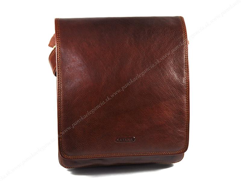 Luxusná kožená taška na rameno KATANA PARIS , 36105-03