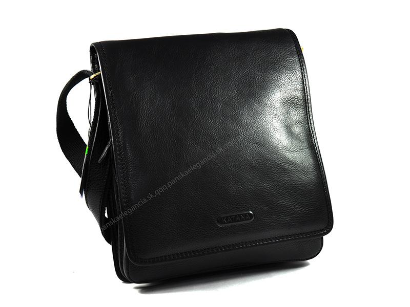 Luxusná kožená taška na rameno KATANA PARIS - limitovaná edícia