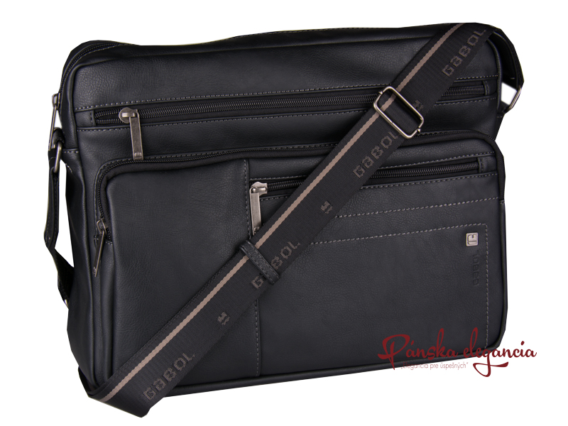 Čierna taška cez rameno GABOL