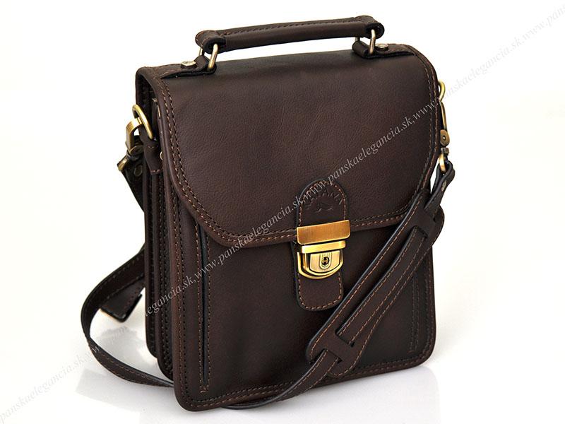 Luxusná kožená taška na rameno KATANA PARIS