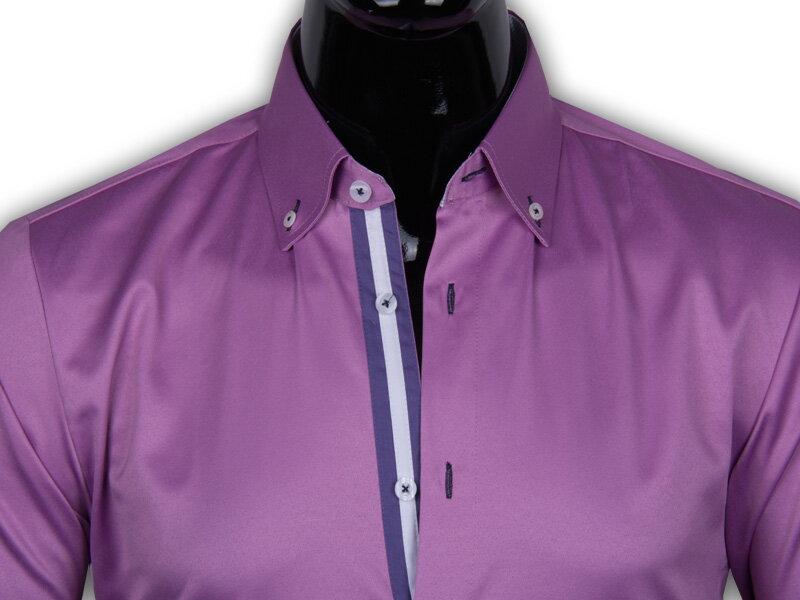 218d8d3d5885 40030-AD-227 Elegantná pánska košeľa ADRIANO CALITRI - SLIM FIT STRIH.  PrevNext