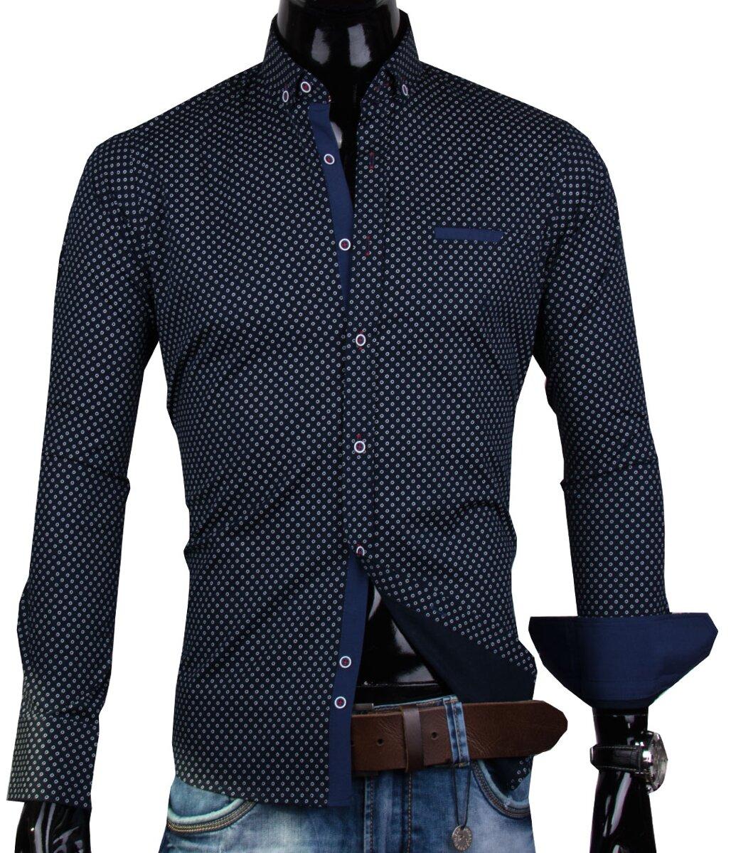 ddde4dd81 30016-EM-337 Pánska košeľa EGO MAN - SLIM FIT STRIH