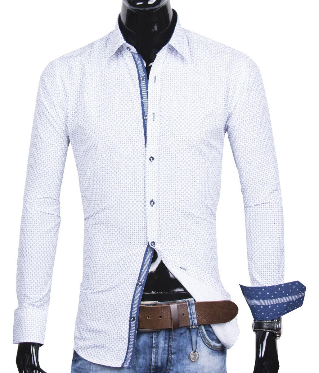 2b41e3bf6439 30016-EM-362 Trendová pánska košeľa EGO MAN 049-01