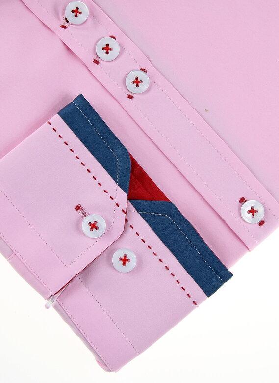 72bbea75dd41 11072-PL-3 Ružová košeľa pre pánov PAKO LORENTE. PrevNext