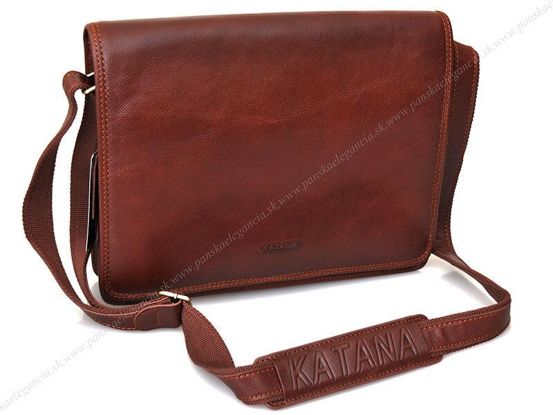 a9ea9136b1 Kožená taška na rameno KATANA PARIS