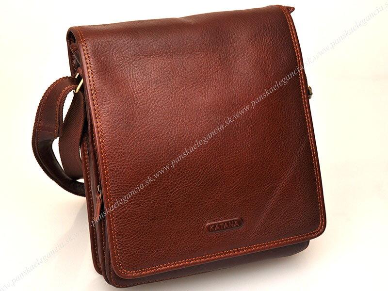f036917681de Luxusná kožená taška na rameno KATANA PARIS - limitovaná edícia ...