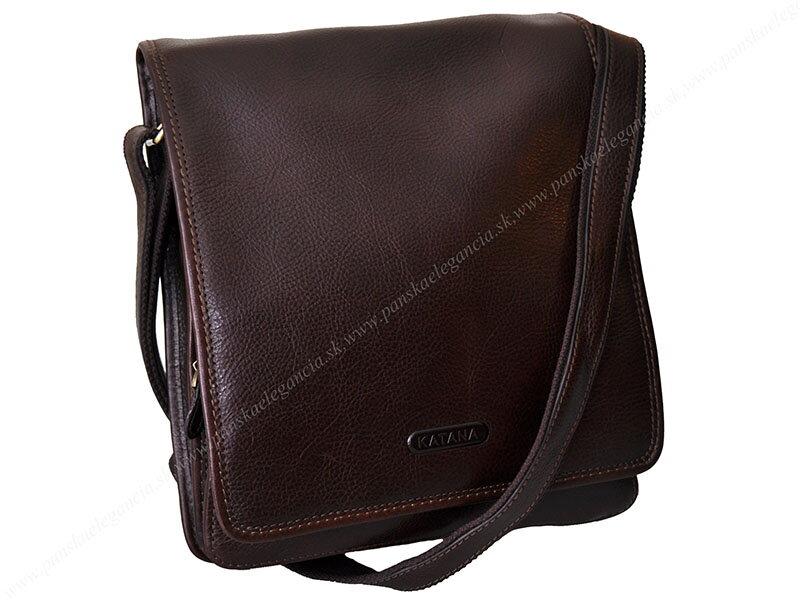 b7367d7e45e0 10169-3 Luxusná kožená taška na rameno KATANA PARIS - limitovaná edícia  36104-02