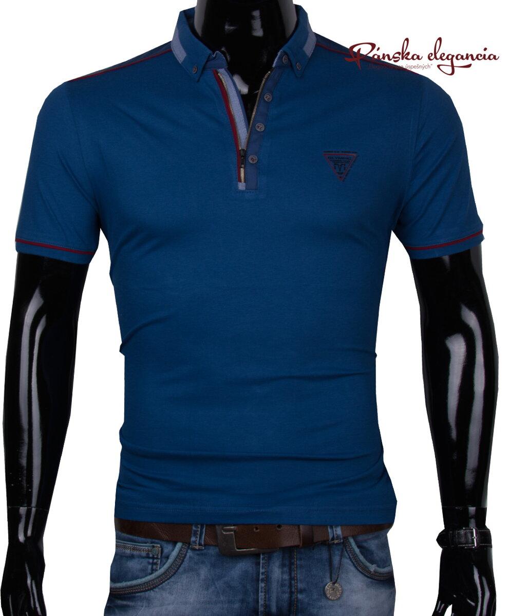 11443-43 Modre tričko v štýlovom prevedení MARCo P-29 ac9f609086f