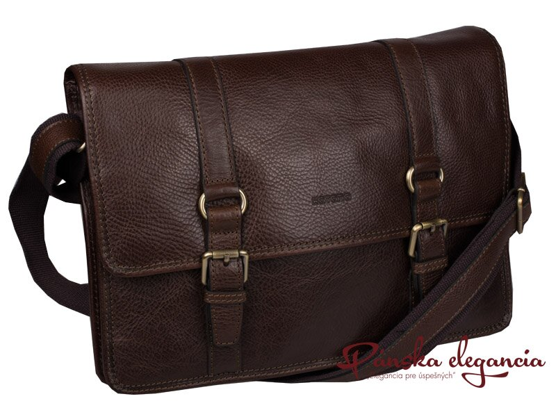 e54d9e2420 10538-2 Štýlová kožená taška na rameno KATANA PARIS 36848-02