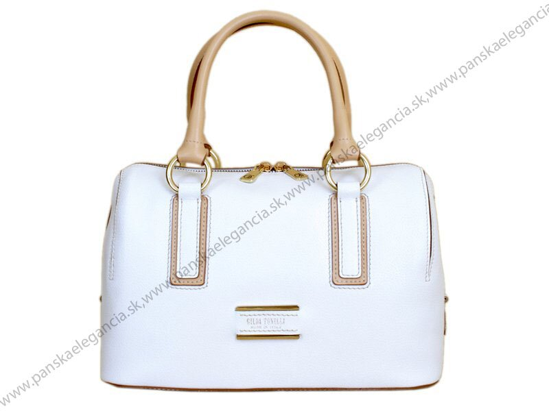 2676ef515fd49 70180 Luxusná dámska kožená kabelka - Gilda Tonelli, skl.