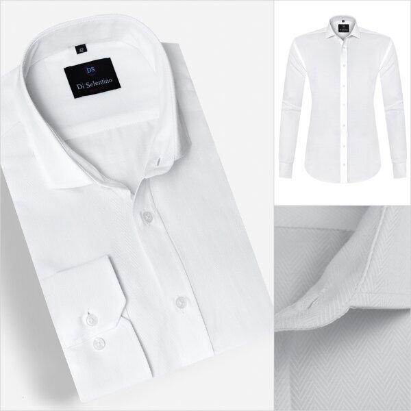 f2331779e0db Biela kvalitná elegantná košeľa v SLIM FIT strihu KyotoSLIM