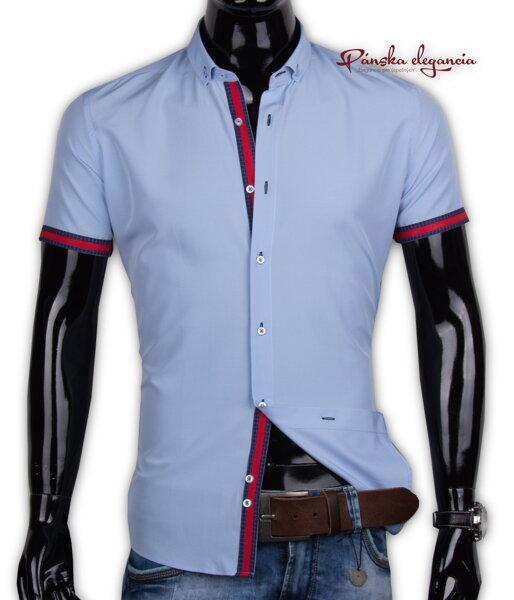 0e3e87ec8b69 40021-EM-K-126 Elegantná pánska košeľa EGO MAN