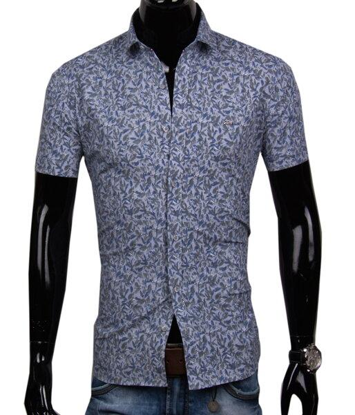 b89b1cd1b358 Pánska košeľa s krátkym rukávom EGO MAN - SLIM FIT
