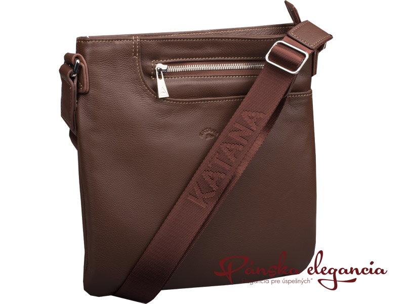 d7a8e7423a Kožená taška na rameno Katana Paris