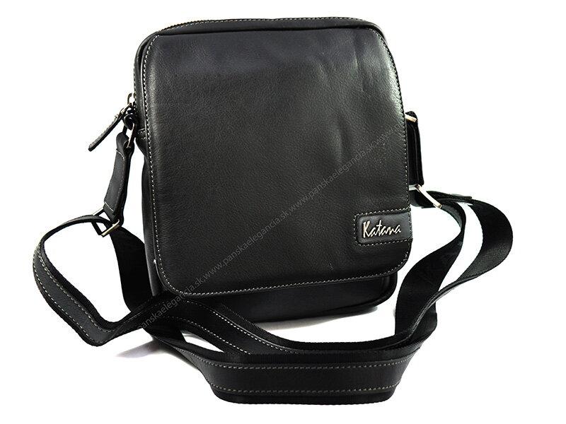88c4977108 Kožená taška na rameno KATANA PARIS.