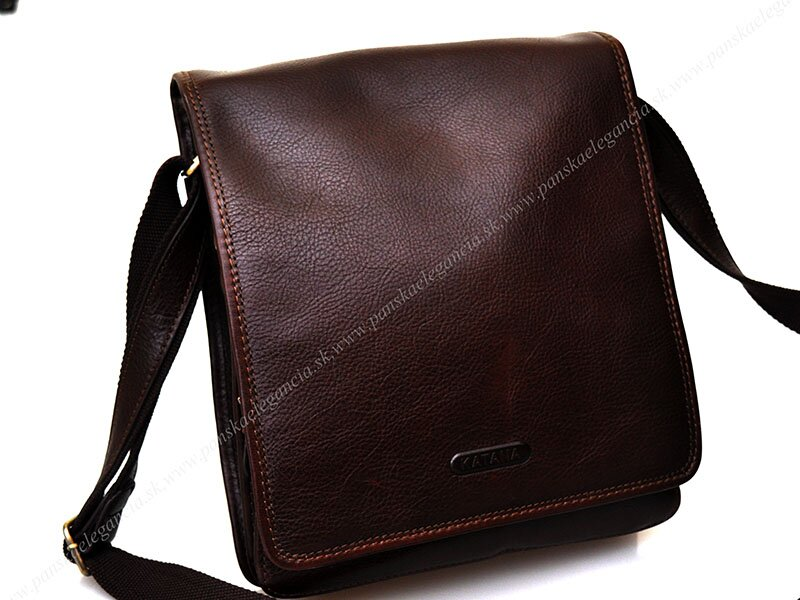 33b59291d3ea Luxusná kožená taška na rameno KATANA PARIS - limitovaná edícia