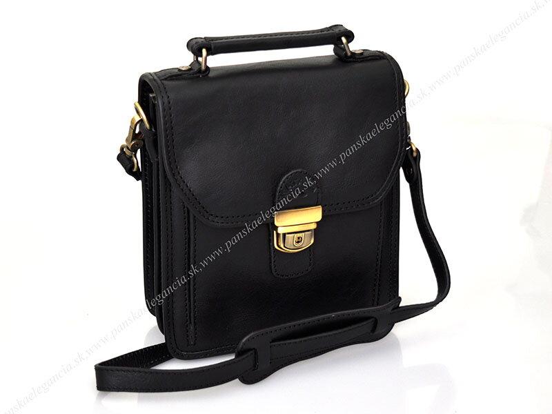 fe48180ad9ec Luxusná kožená taška na rameno KATANA PARIS