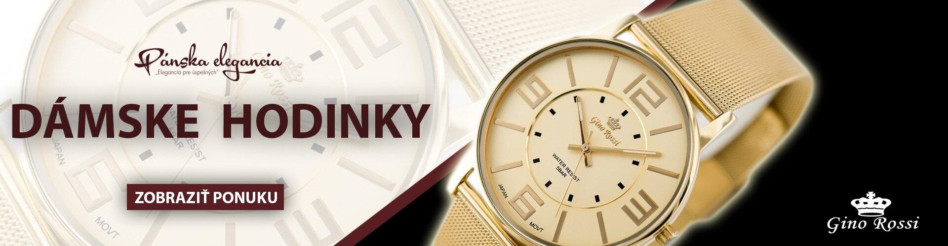 Dámske hodinky – štýlové a elegantné  b75f77b24e4