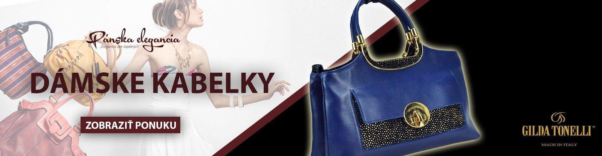 Kvalitné dámske kabelky - dnes ZĽAVA -20%  dc1f99c5174