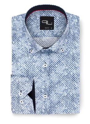 bb1f43c1a78e 11942-PL-30 Pánska košeľa v módnom prevedení PAKO LORENTE