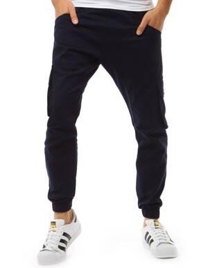 22579b00ded3 Pánske jogger nohavice v čiernom prevedení (ux1878)