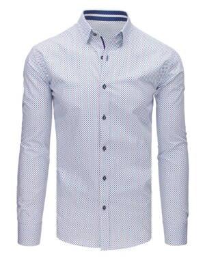 39ffce6ccbb5 Vzorovaná bavlnená košeľa (dx1647)