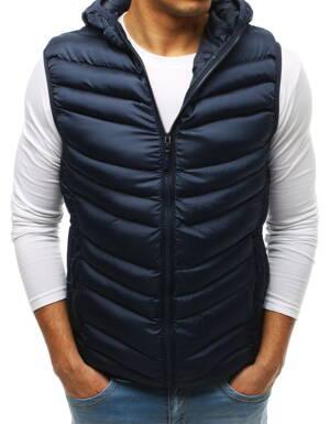 ad01214a46b6 Pánska granátová prešívaná vesta s kapucňou (tx2664)