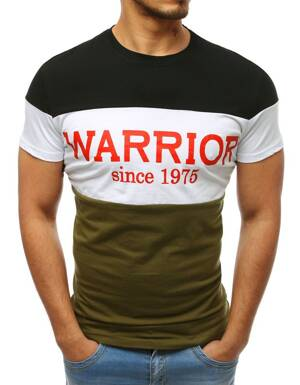 e16a4ec358ed Čierne bavlnené tričko s potlačou (rx3398)