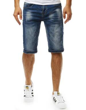 5d74fd45ecee Pánske trendy džínsové kraťasy (sx0822)