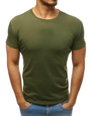 3d55b75e1e09 Pánske khaki tričko bez potlače (rx3414)