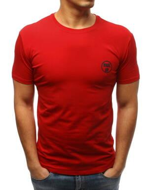 635a7509b964 Červené pánske tričko (rx3356)