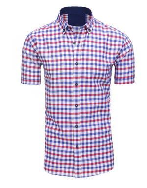 fef0646902e4 Elegantná károvaná pánska košeľa. (kx0894)