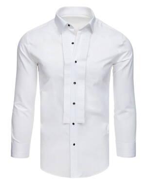 8ab3a231908f Smokingová biela pánska košeľa (dx1740)