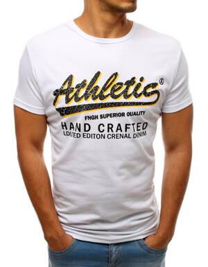 895d90943c Biele pánske tričko s potlačou (rx3528)