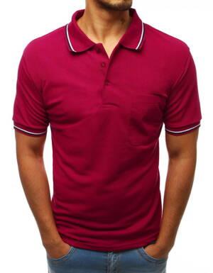 f030f6ef87bb Pánske bordové POLO tričko (px0233)
