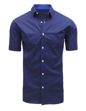 710c18a28191 Štýlová pánska košeľa s krátkym rukávom (kx0886)
